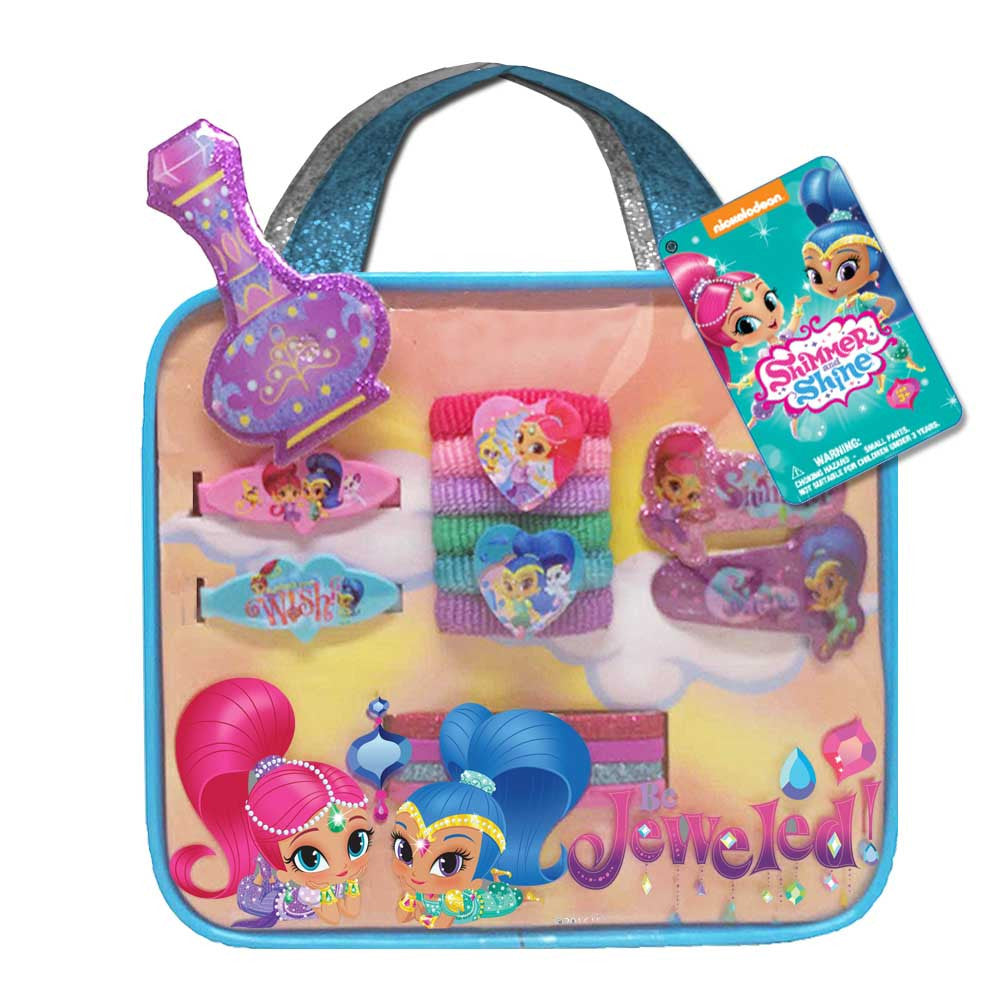 sn076-NJ - Shimmer and Shine bag with assorted accessories  (Available Now) , Licensed - INV, Madly Deeply Co. - 1