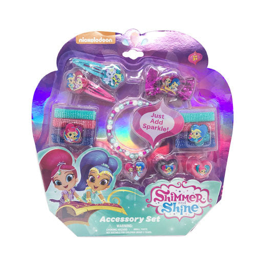 sn165-NJ - Shimmer and Shine HAIR and jewelry ACCESSORY set (Available Now)
