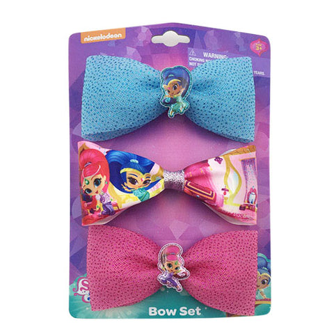 sn178-NJ - Shimmer and Shine 3 on a card bows(Available Now)