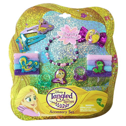 tg112-NJ - Tangled HAIR and jewelry ACCESSORY set (Available Now)