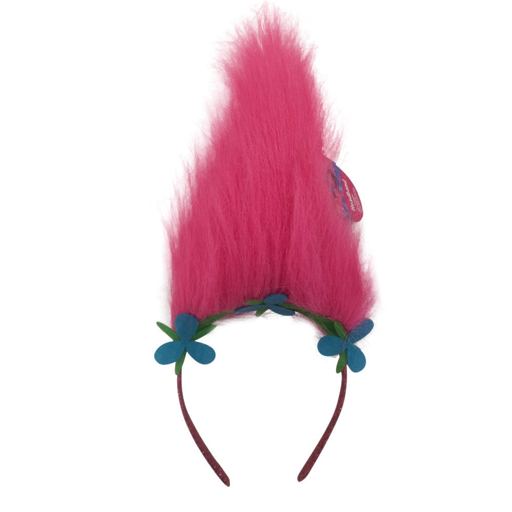 tr057-NJ - Trolls faux hair headband  (Available Now) , Licensed - INV, Madly Deeply Co. - 1