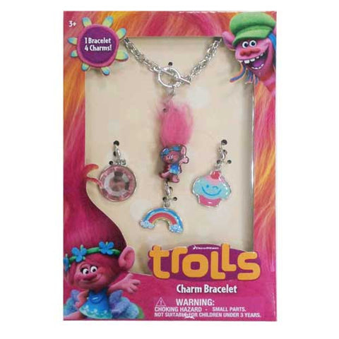 tr154-NJ - Trolls add a charm tiffany bracelet accessory set  (Available Now) , Licensed - INV, Madly Deeply Co. - 1