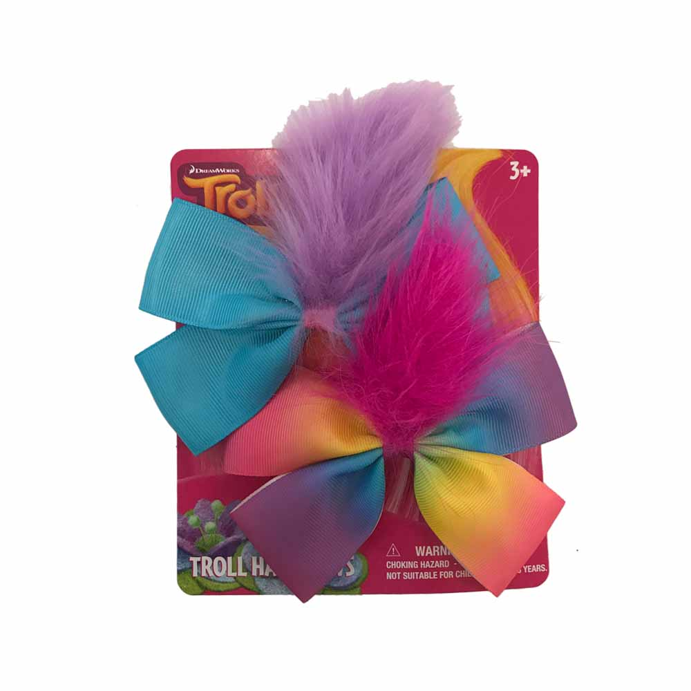 tr447-LA - Trolls 2 on a card bows(Available Now)