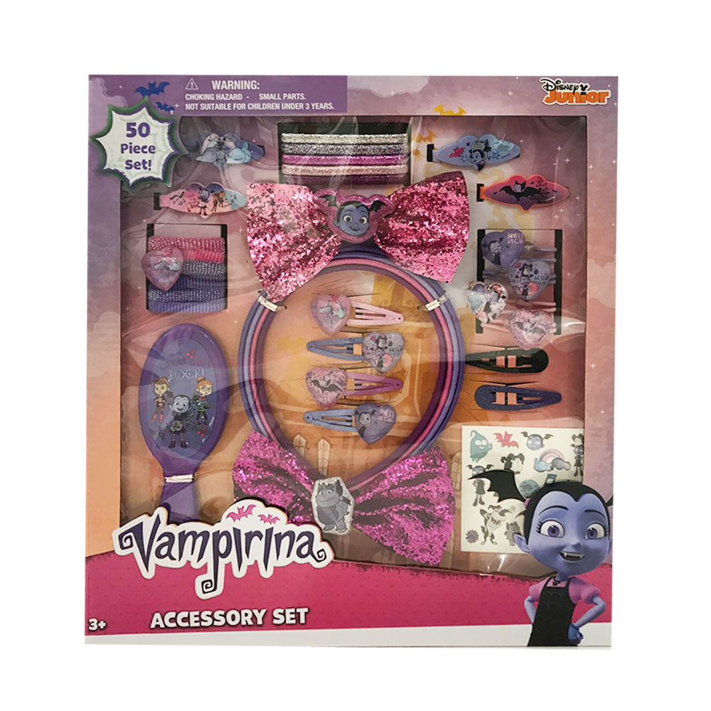 va022-LA -Vampirina 50pc accessory set on a box (Available Now)