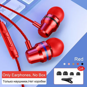 Wired Earbuds Headphones