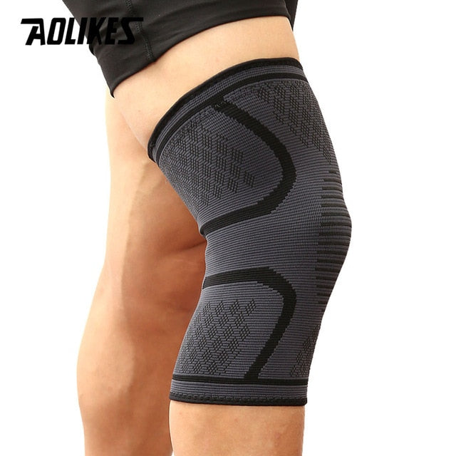 AOLIKES 1PCS Fitness Running Cycling Knee Support Brace