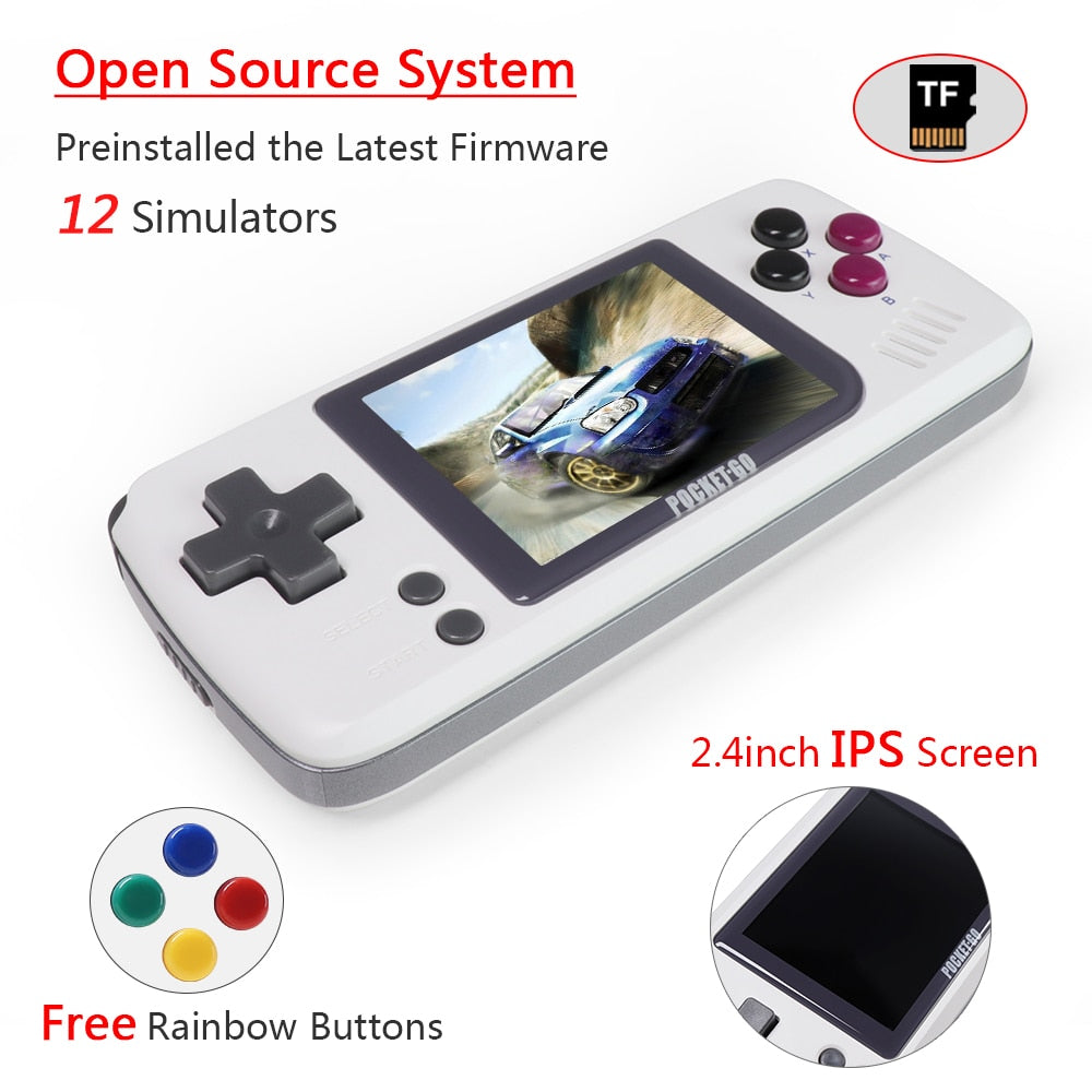 Portable Handheld Retro Game Console
