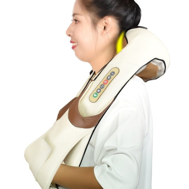 Electric Shiatsu for Back Body Shouder Neck Massager