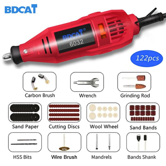 Variable Speed Polishing Machine with Dremel Tool Accessories-Engraving Pen