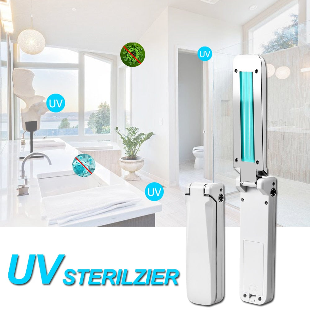 UVC Disinfection Portable Light For Home Kitchen Bedroom Germicidal