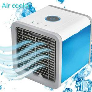 Mini Portable Air Conditioner and Humidifier with Night Light
