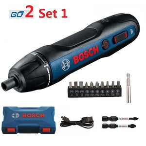 BOSCH Rechargeable Cordless Power Drill Electrical Screwdriver