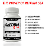 Reform GSA - Mental Health Supplement - 60 Capsules
