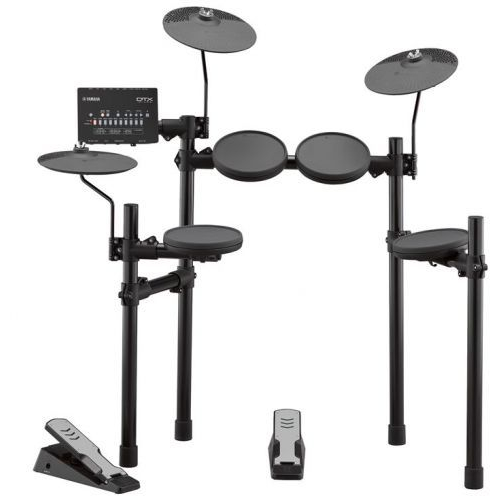 Yamaha DTX402KPLUS Electronic Drum Kit w/HPH50B Headphones DS550 Stool & DTX Sticks