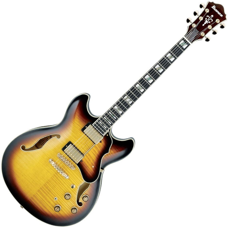 Ibanez AS153 AYS Artcore Artstar - Antique Yellow Sunburst