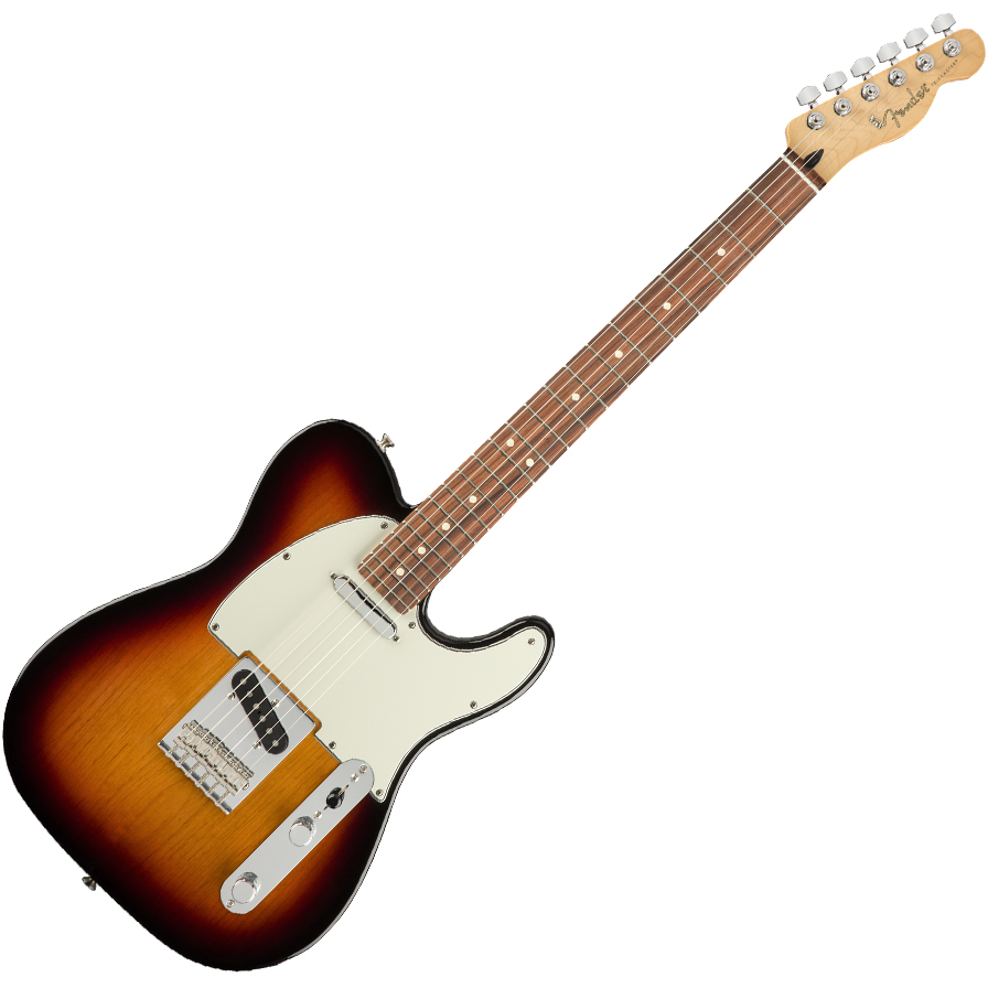 Fender Player Telecaster Electric Guitar - Pau Ferro / 3-Color Sunburst