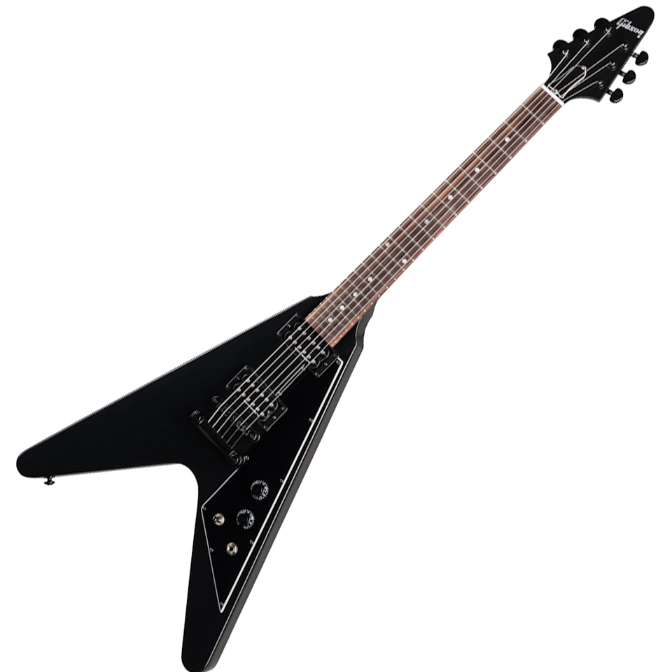 Gibson Flying V B-2 - Satin Ebony - Satin Ebony