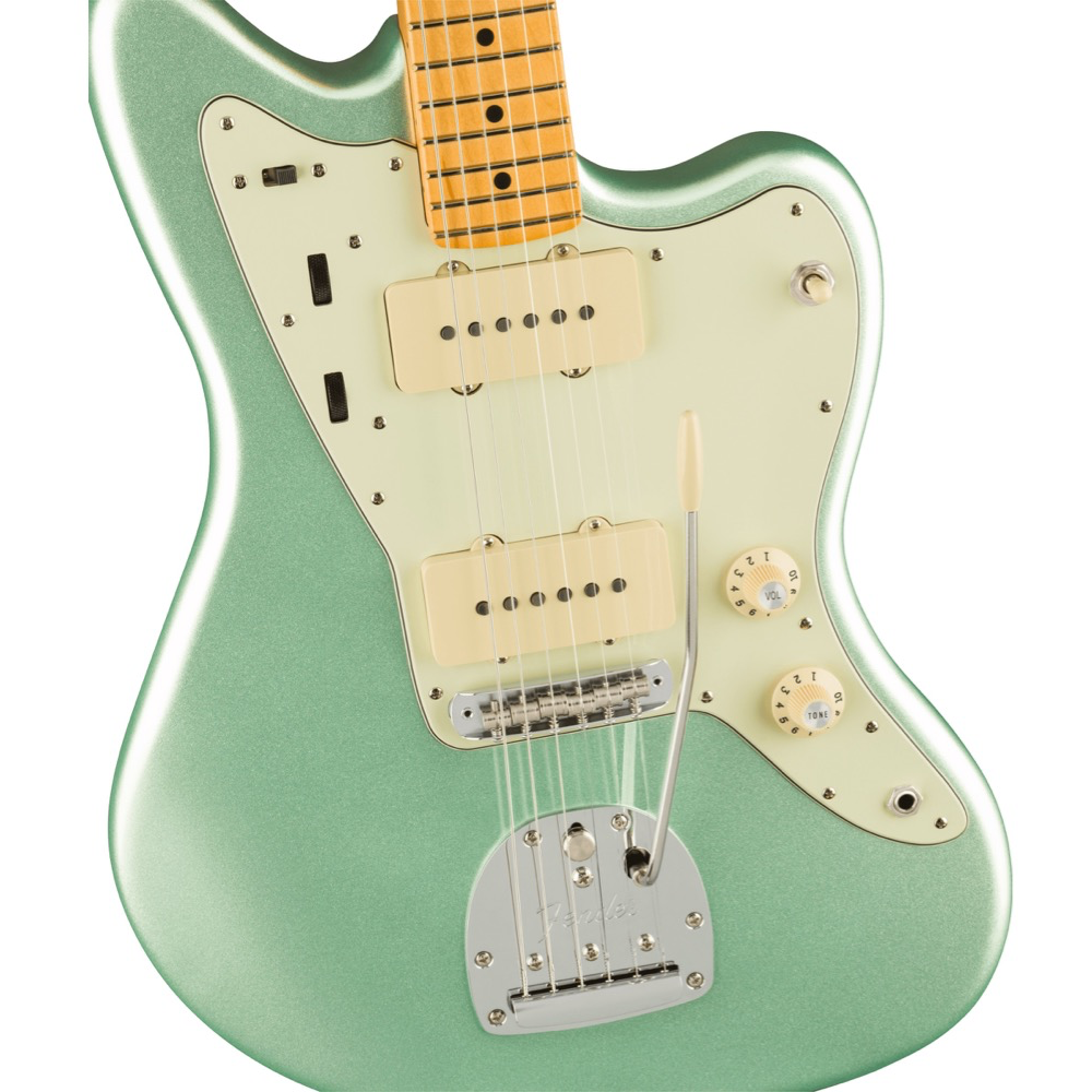 Fender American Professional II Jazzmaster - Maple/Mystic Surf Green