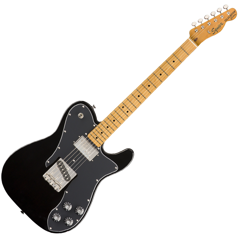 Squier Classic Vibe '70s Telecaster Custom - Maple Fingerboard - Black