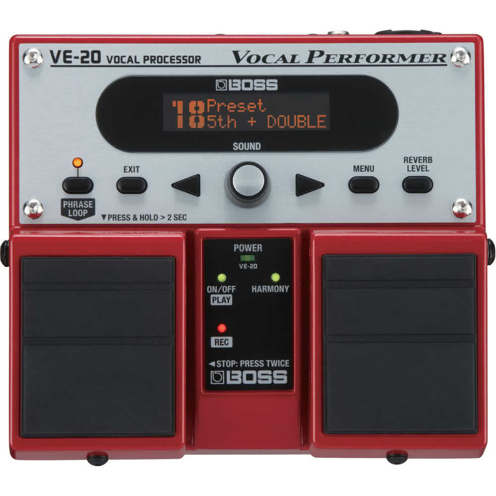 Boss VE20 Vocal FX Guitar Pedal