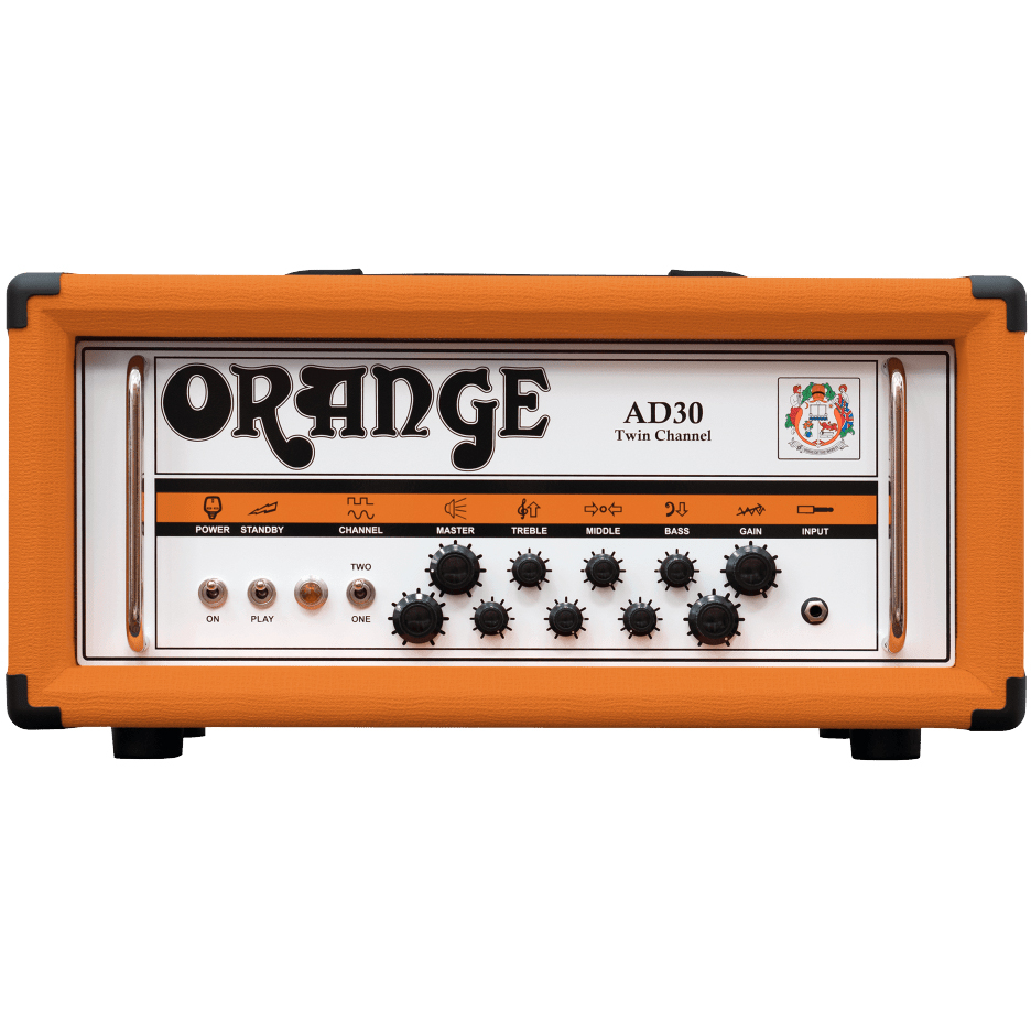Orange AD30HTC Twin Channel 30W Valve Head - Orange