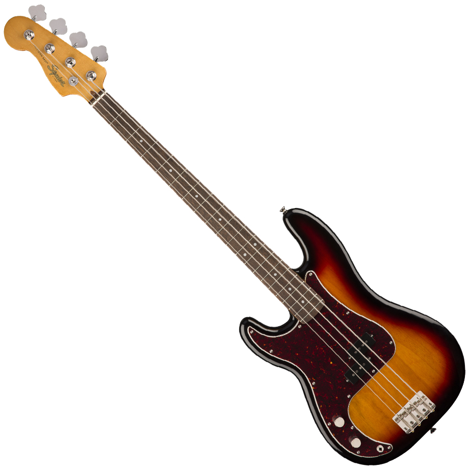 Squier Classic Vibe '60s Precision Bass Left-Handed - Laurel Fingerboard - 3-Color Sunburst
