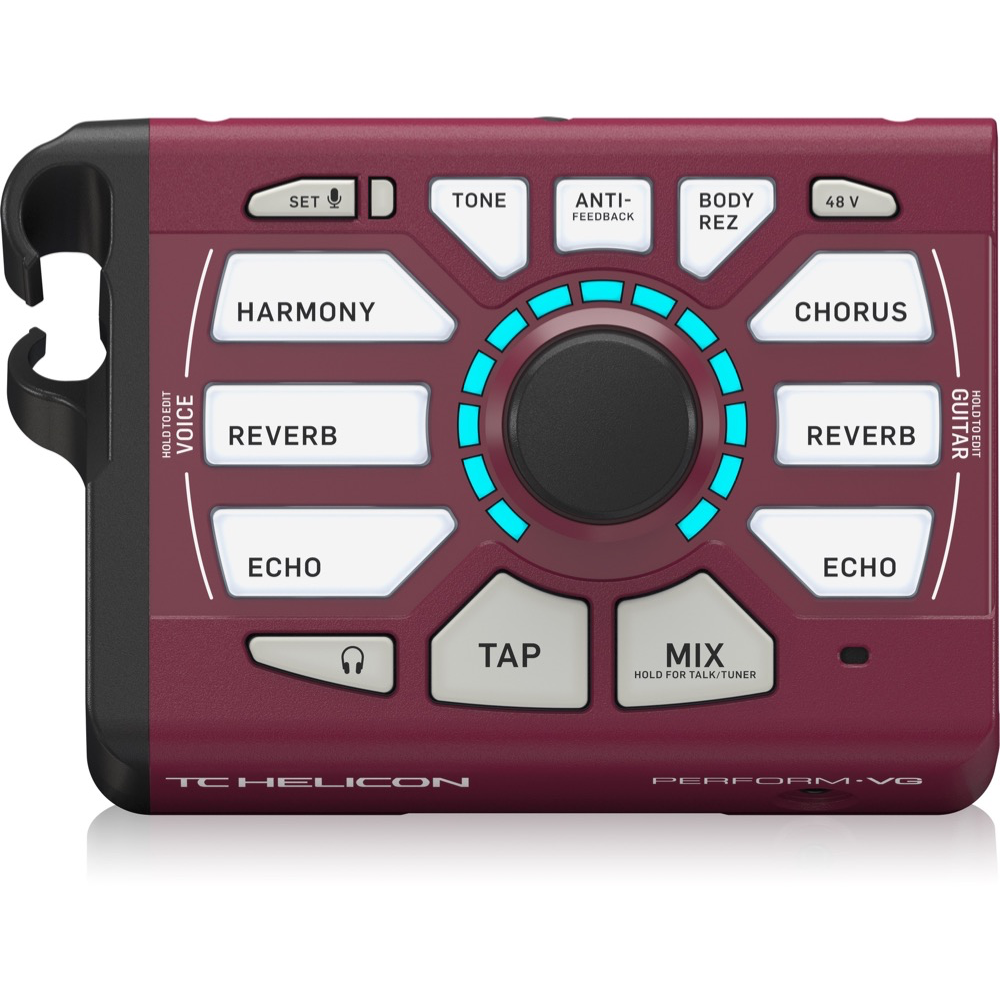 TC Helicon Perform-VG Burgundy Vocal Processor