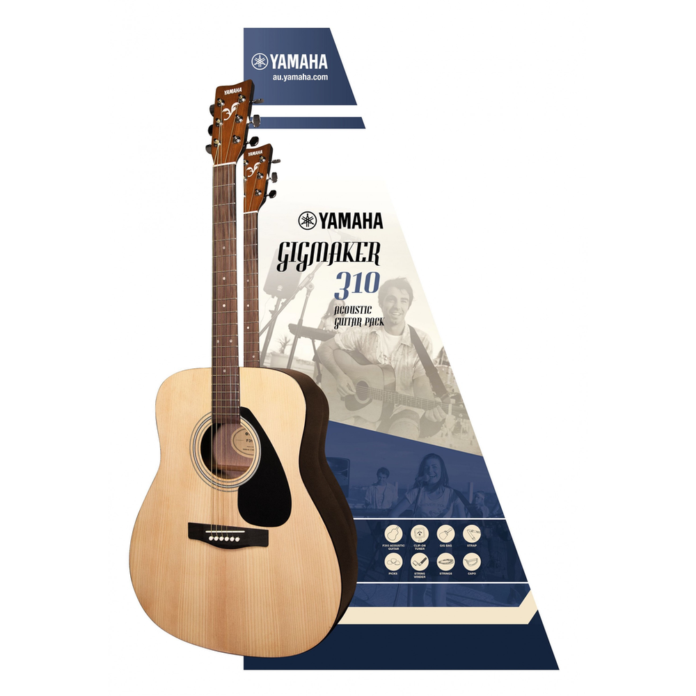 Yamaha GIGMAKER310 Acoustic Guitar Pack