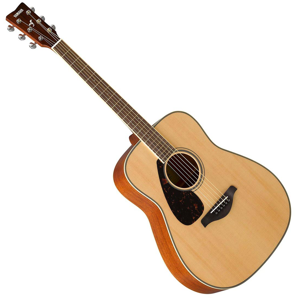 Yamaha Fg820 Left-Handed Natural Finish