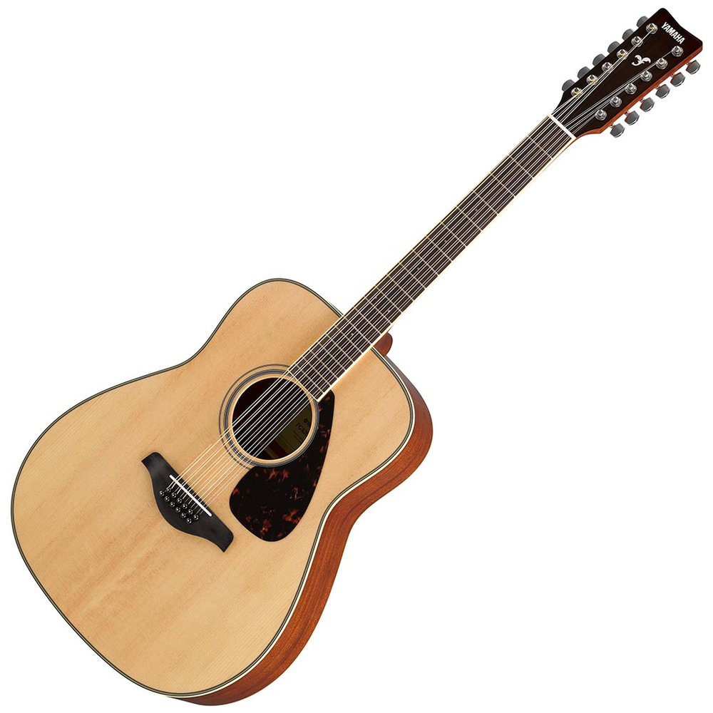 Yamaha Fg820 12-String Natural Finish