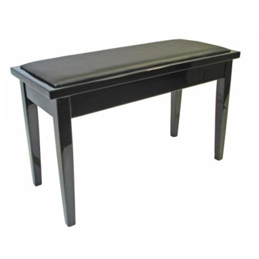 AMS Piano Stool - Sheet Music Compartment - Black