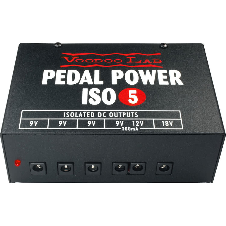 Voodoo Lab Pedal Power ISO5 Aust 240V Guitar Pedal power supply