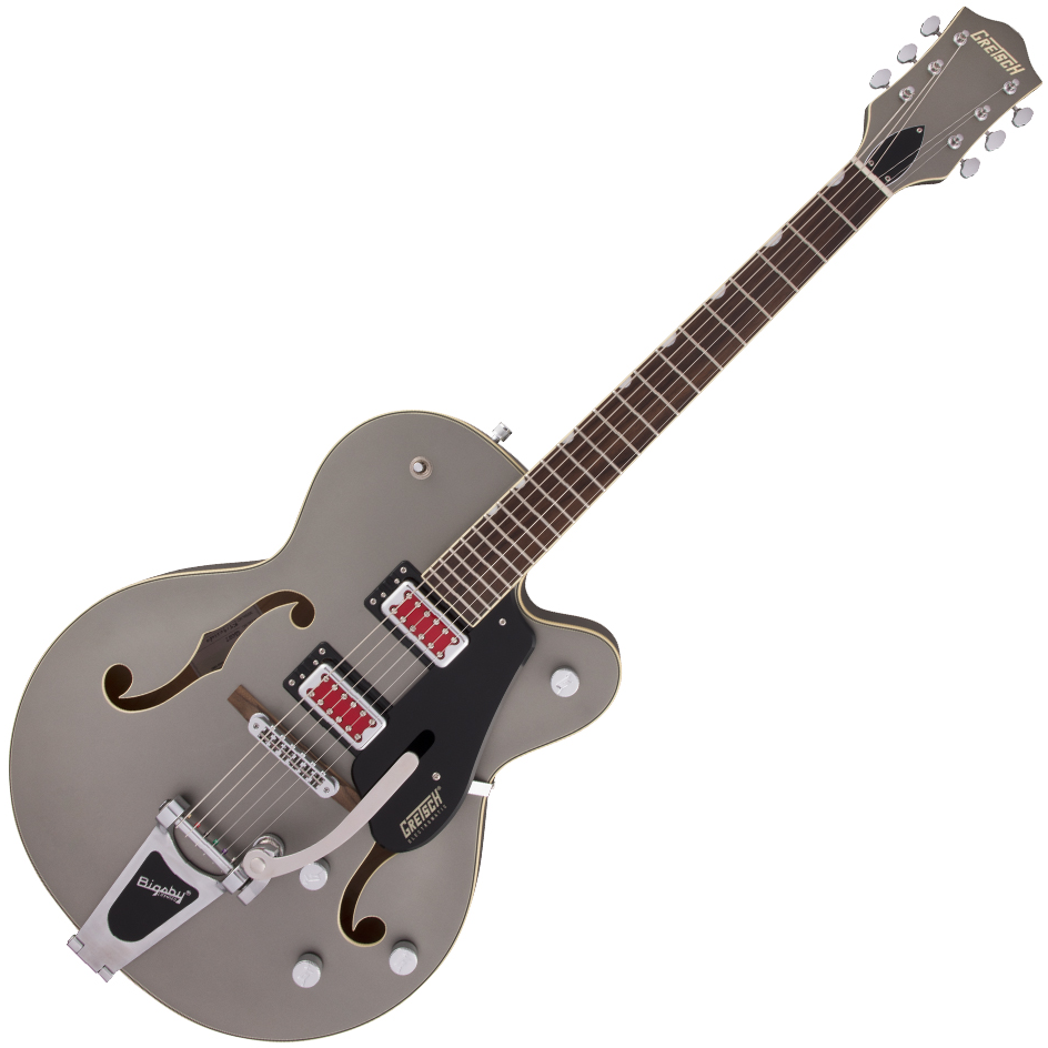 "Gretsch G5410T Electromatic ""Rat Rod"" Hollow Body Single-Cut with Bigsby - Rosewood Fingerboard - Matte Phantom Metallic"