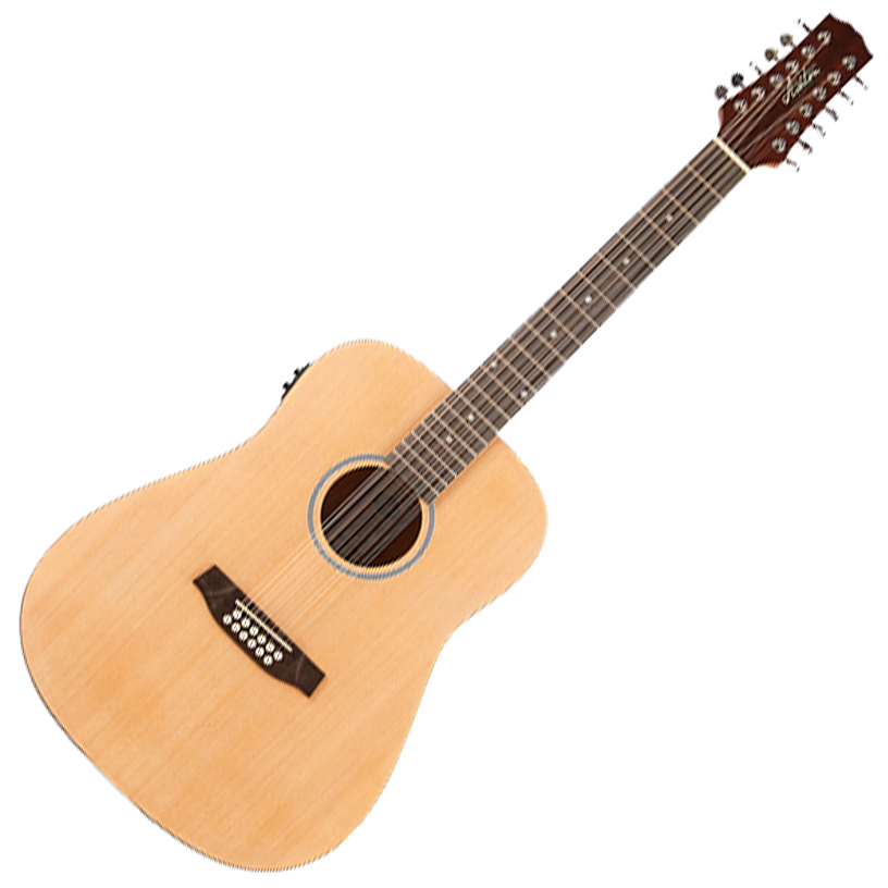 Ashton D20/12EQ NTM Dreadnought 12 String with EQ - Natural