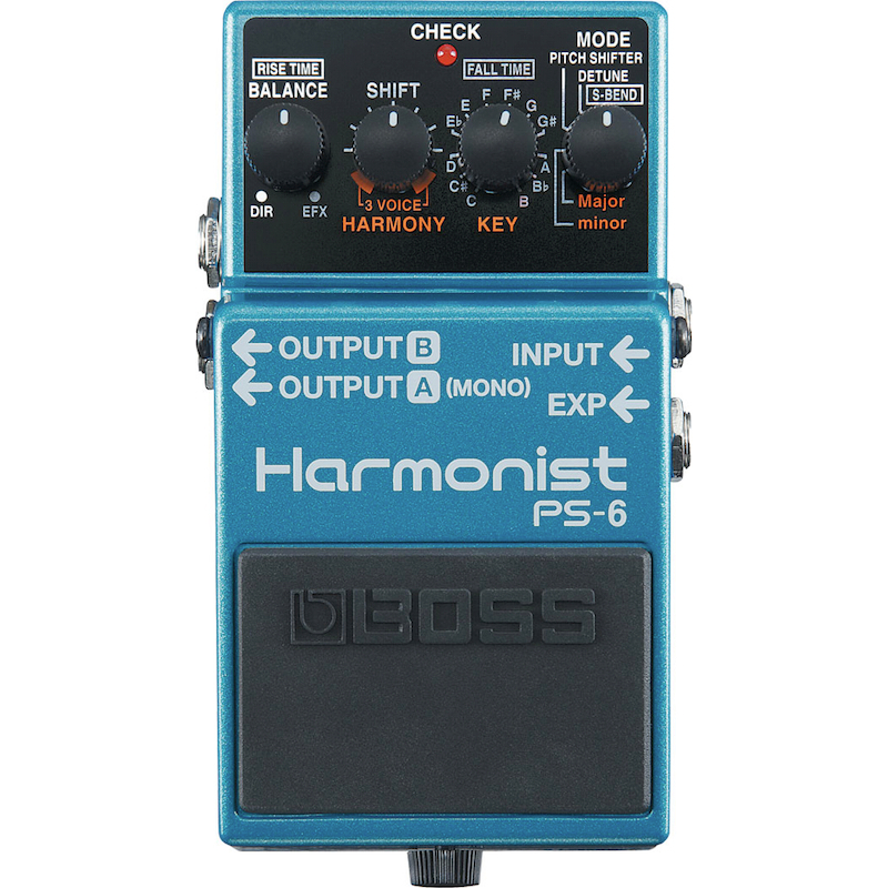 Boss PS6 Harmonist Pedal