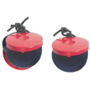 Mano Percussion UE542 Pair Wood Finger Castanets