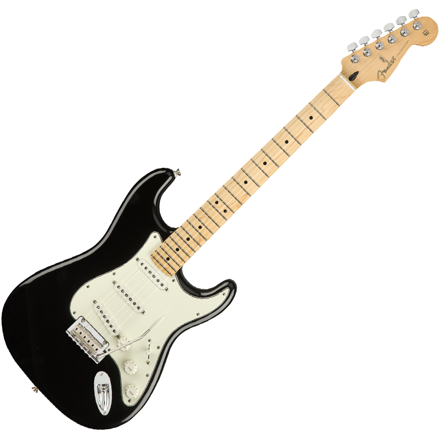 Fender Player Stratocaster Electric Guitar - Maple Fretboard / Black