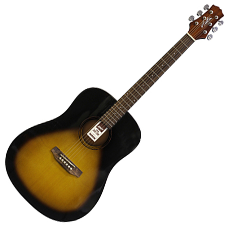 Ashton D20 TSB Acoustic Guitar - Brown