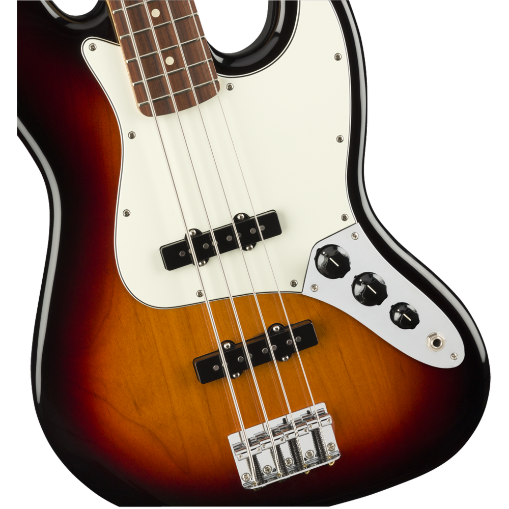 Fender Player Jazz Bass Guitar - Pau Ferro / 3-Color Sunburst