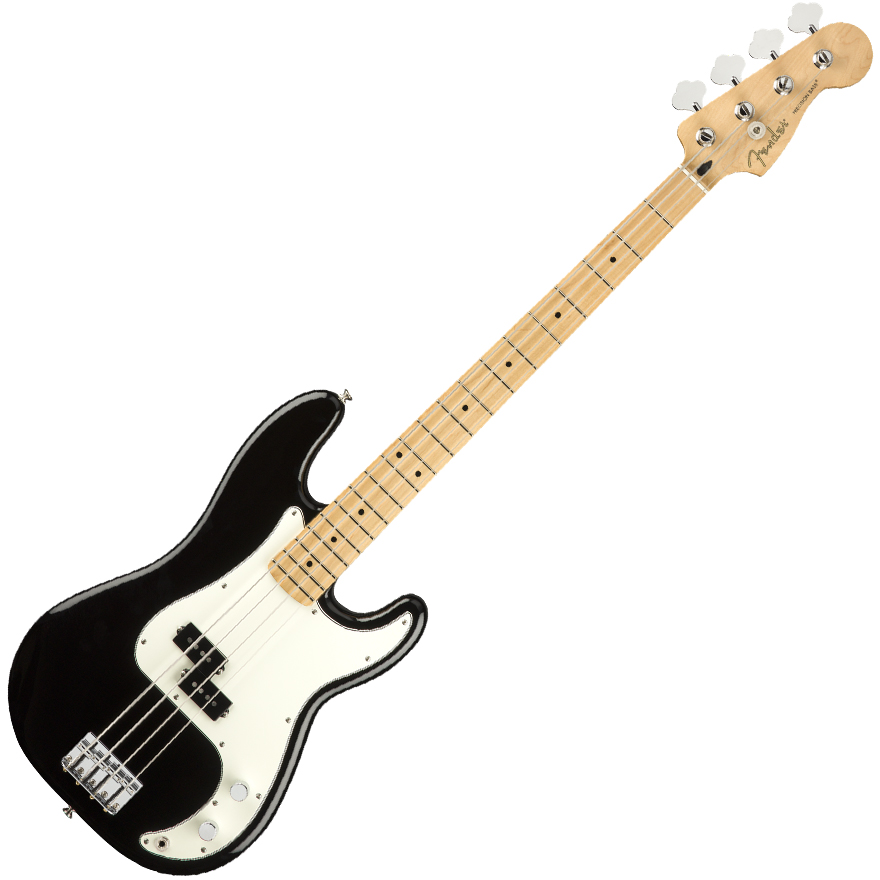 Fender Player Precision Bass Guitar - Maple / Black
