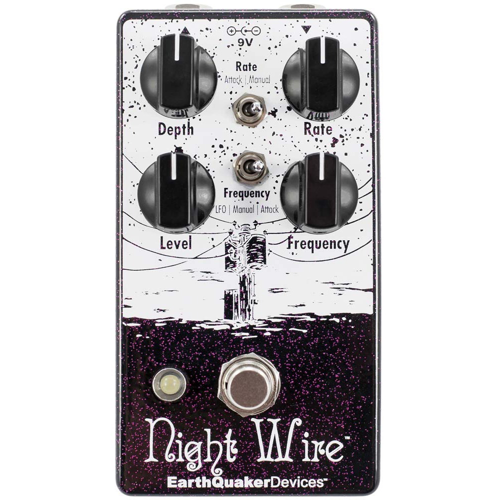 Earthquaker Devices Night Wire Wr Harmonic Tremolo V2