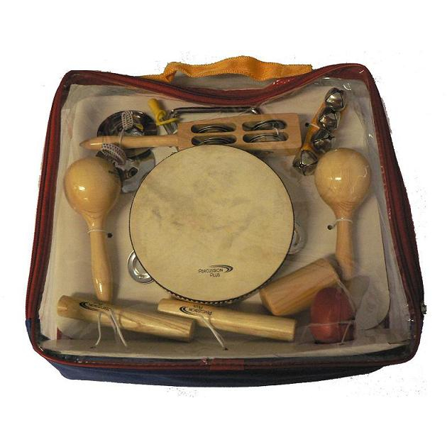 Percussion Plus 9 Piece Complete Percussion Set w/Bag