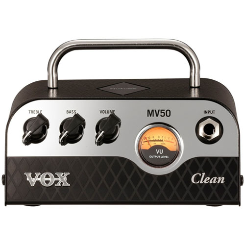 VOX MV50 Clean 50 Watt Nutube Guitar Amplifier Head