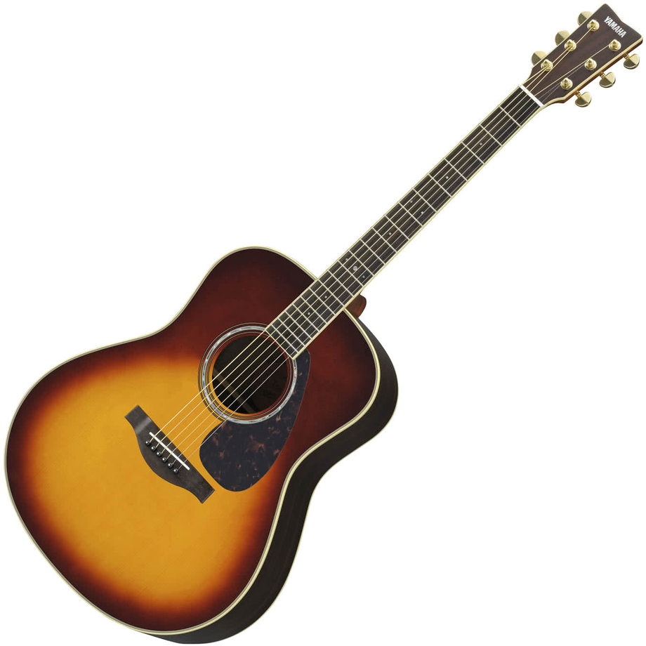 Yamaha LL6 ARE Brown Sunburst Acoustic Guitar