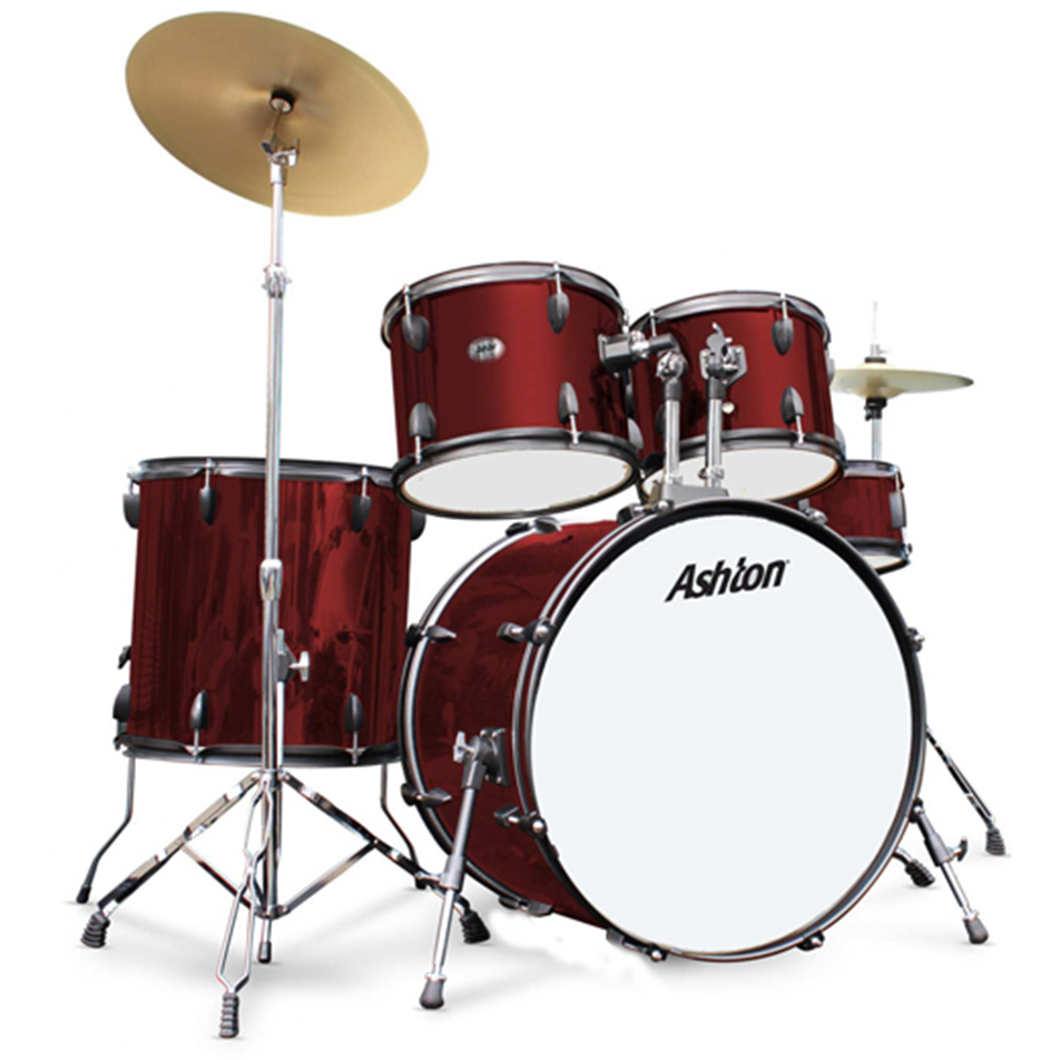 Ashton JOEYDRUM Wine Red DrumKit