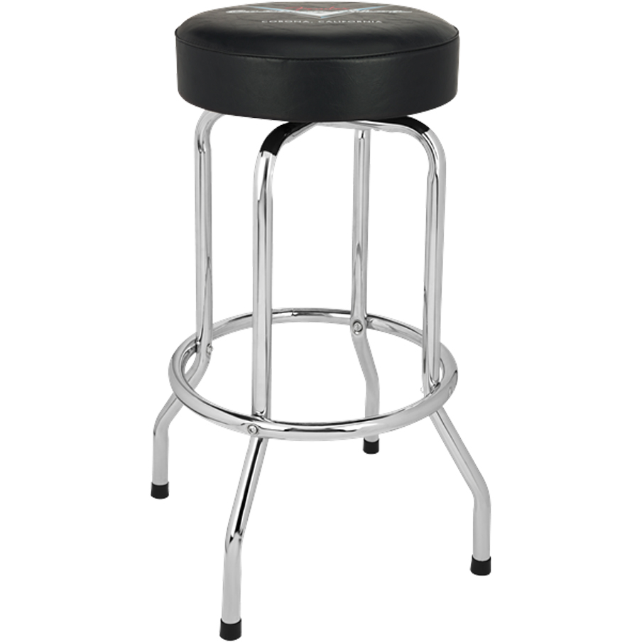 Fender Bar Stool - 24 Inch Fender Custom Shop Pin Stripe