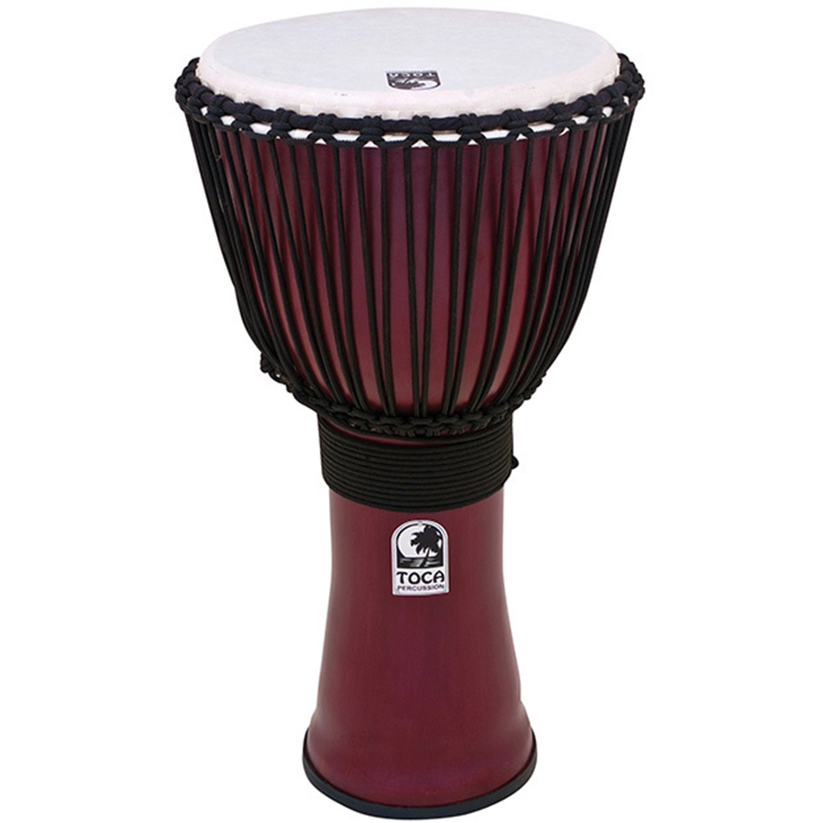 "Toca Freestyle 2 Series Djembe - 12"" - Red"