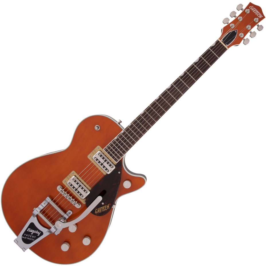 Gretsch G6128T Players Edition Jet™ FT with Bigsby - Rosewood Fingerboard - Roundup Orange