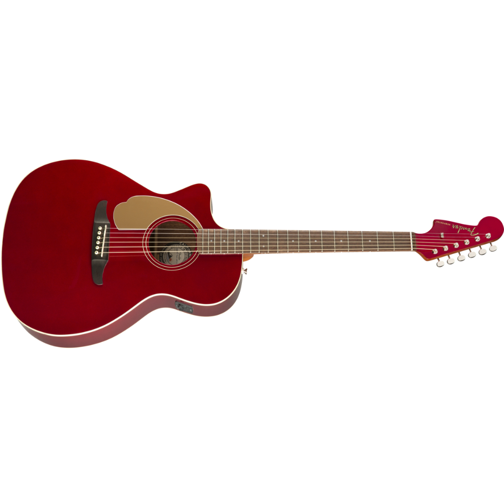 Fender Newporter Player Left-Handed - Walnut Fingerboard - Candy Apple Red