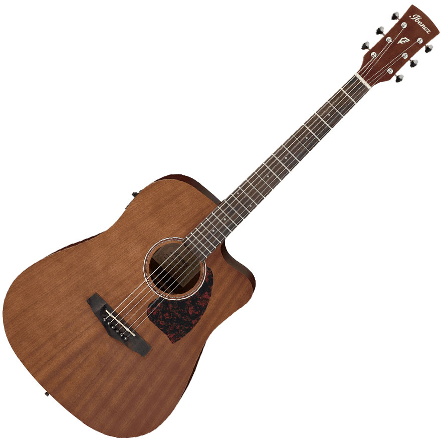Ibanez PF12MHCE OPN PF-Series Acoustic Guitar - Open Pore Natural
